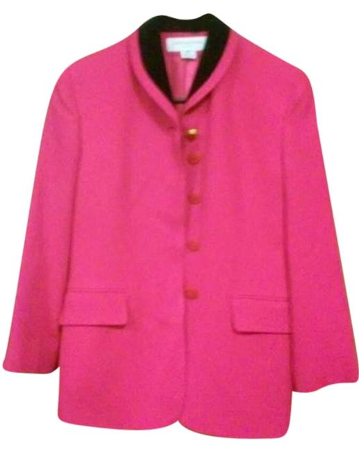 Jones New York magenta and black Blazer