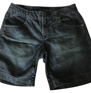 Le lis blanc Made In Brazil Brazilian Denim Shorts-Dark Rinse