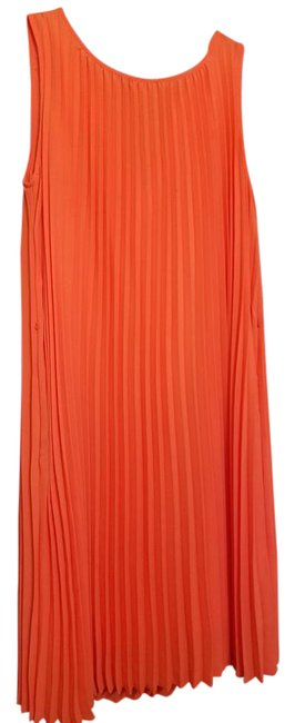 Preload https://img-static.tradesy.com/item/21854677/banana-republic-orange-electric-pleats-mid-length-cocktail-dress-size-8-m-0-1-650-650.jpg