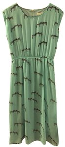Aqua Maxi Dress by Sugarhill Summer Midi Animal Print