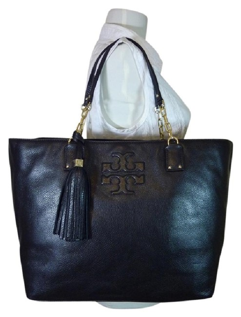 Item - Thea Ew Shoulder Black Pebbled Leather Tote