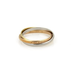 Cartier trinity rings up to 70 off at tradesy cartier tricolor trinity ring junglespirit Choice Image