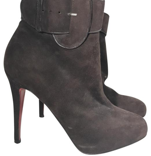 Preload https://img-static.tradesy.com/item/21855272/christian-louboutin-brown-bootsbooties-size-us-85-regular-m-b-0-1-540-540.jpg