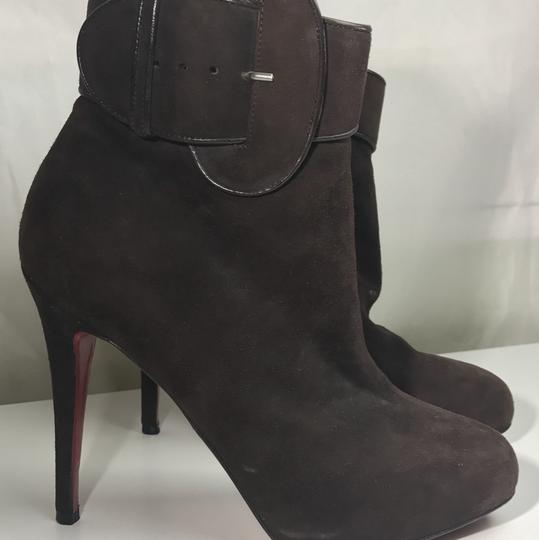 Christian Louboutin Brown Boots Image 1