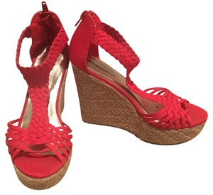 Mossimo Supply Co. Red Wedges