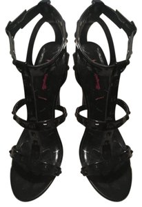 Betseyville by Betsey Johnson Black Sandals