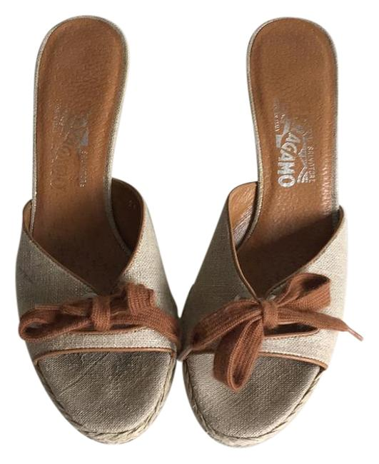 Item - Light Tan with Brown Laces Unknown Mules/Slides Size US 8.5 Regular (M, B)