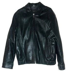 Marc New York Leather Men's Leather Blk Leather Ny Leather Ny Lthr Jkt Leather Jacket