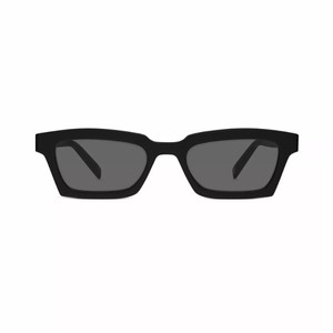Warby Parker off-white virgil abloh x warby parker small black sunglasses