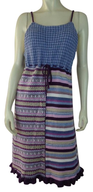 Preload https://img-static.tradesy.com/item/21857290/hanna-andersson-purples-blues-pinks-greens-combed-cotton-knit-tank-style-empire-waist-mid-length-cas-0-1-650-650.jpg