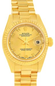 Rolex Rolex President Datejust Ladies 18k Yellow Gold Watch 179178