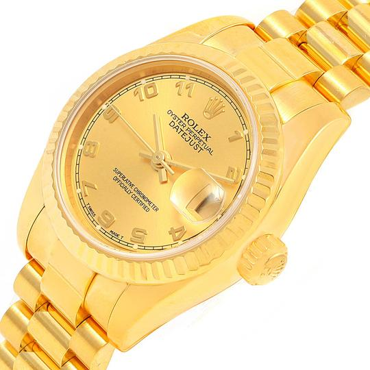Rolex Rolex President Datejust Ladies 18k Yellow Gold Watch 179178 Image 2
