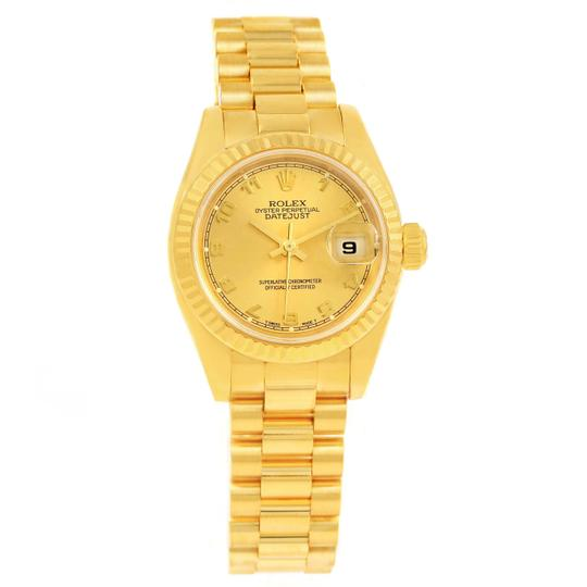 Rolex Rolex President Datejust Ladies 18k Yellow Gold Watch 179178 Image 8