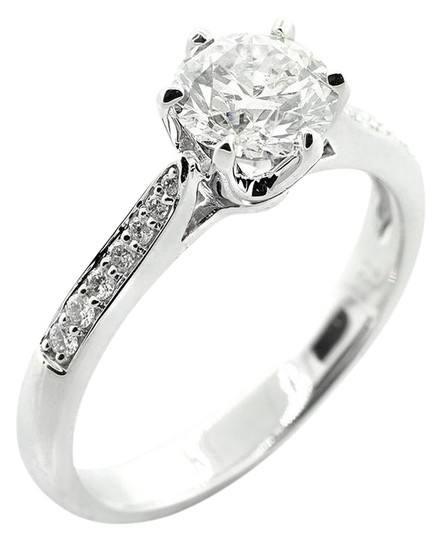 Preload https://img-static.tradesy.com/item/21857389/white-117-cts-round-cut-six-prong-set-in-18kw-engagement-ring-0-1-540-540.jpg