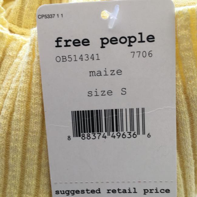 Free People Top Maize/Yellow Image 3