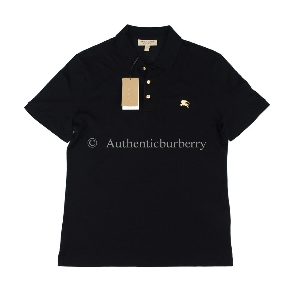 a29624d67423 Lyst - Burberry Brit Polo Shirt in Black for Men