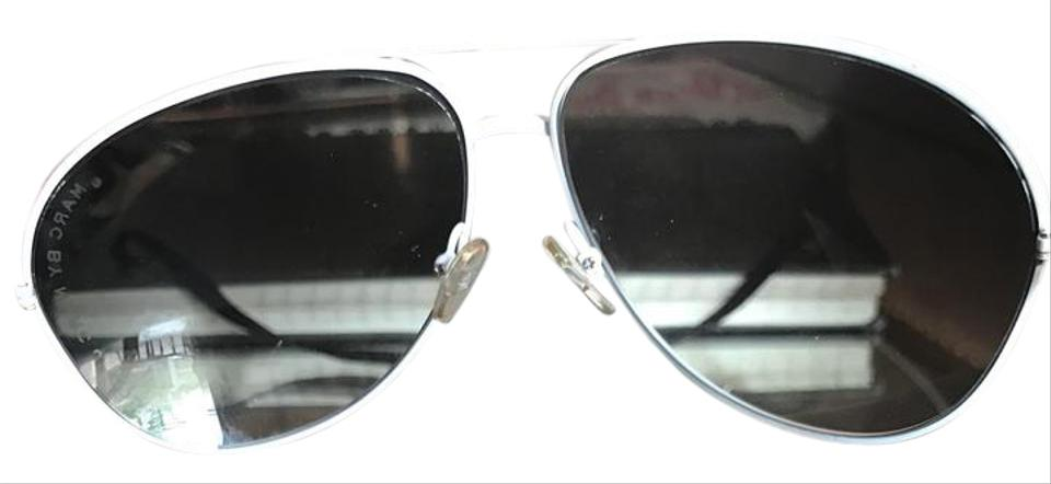 0487a3caa6c7 Marc Jacobs White with Gray Gradient Lenses Mj016/S Aviators Sunglasses