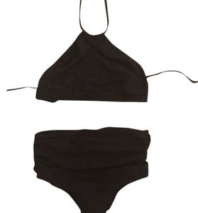 J.Crew High-waisted ruched bikini bottom