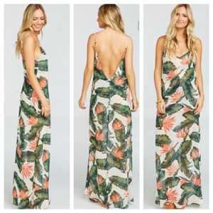 Show Me Your Mumu Paradise Found Jolie Maxi Destination Bridesmaid/Mob Dress Size 0 (XS)