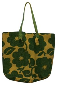 Boutique Tote Oversized Large Flowers Lined New Soft Practical Useful Blue & White Beach Bag