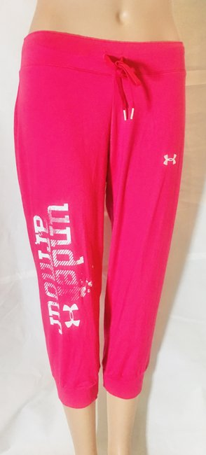 Item - Fuchsia Allseason Gear Cropped Joggers Activewear Bottoms Size 6 (S, 28)