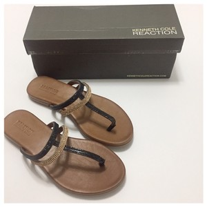 Kenneth Cole Reaction Black & Tan Sandals