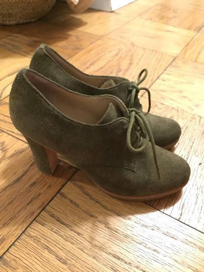 Talbots Olive Suede Boots