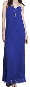 Cobalt Maxi Dress by Express Maxi Pleated Maxi