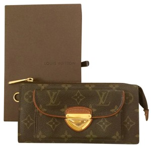 Louis Vuitton Louis Vuitton Monogram Double Zippy Wallet Pouchette Wristlet Cardholder Rare