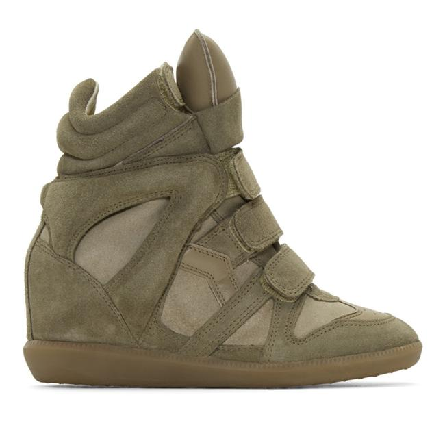Item - Army Green / Taupe Bekett Sneakers Size EU 39 (Approx. US 9) Regular (M, B)