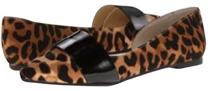 Chinese Laundry Leopard and black Flats