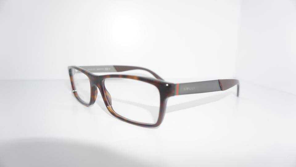 89d8ef58327 Gucci Tortoise Gray Brown Eyeglass Frame with Packaging Sunglasses .