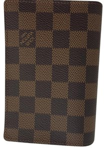 Louis Vuitton Louis Vuitton Damier Ebene Canvas Passport Cover