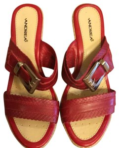Andrea RED Wedges