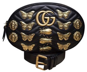 2bc5618dc661 Added to Shopping Bag. Gucci Belted Butterfly Cross Body Bag. Gucci Marmont  Gg Animal Studs ...