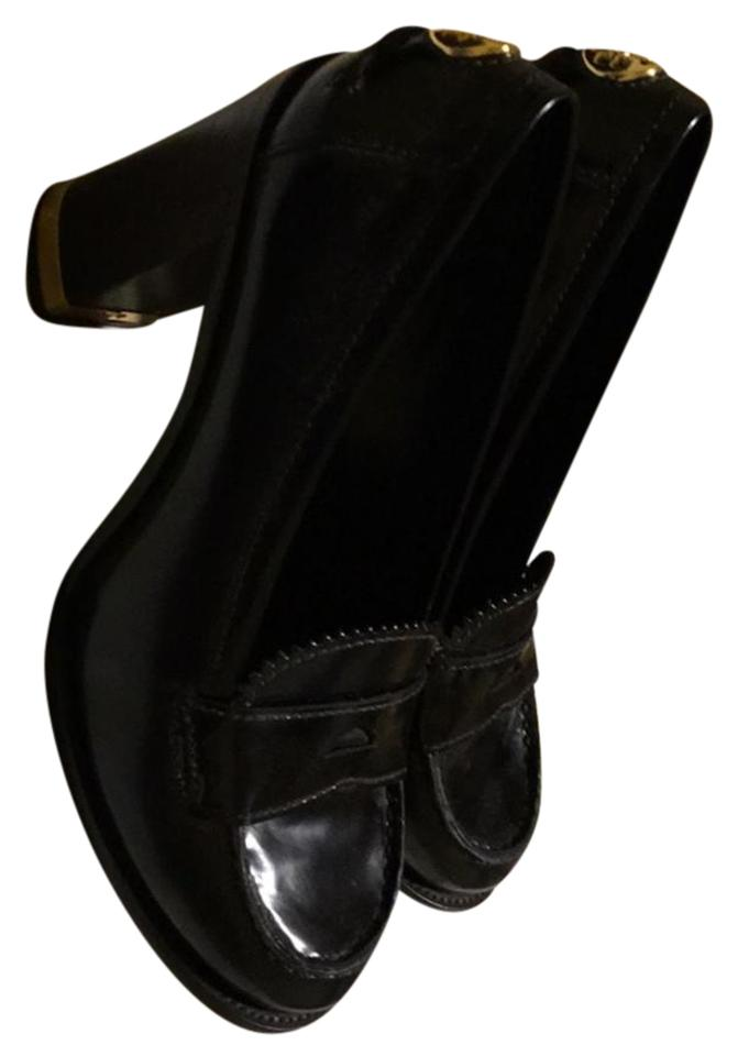 Burch Platforms Black Genuine Leather Tory 4xSZnq