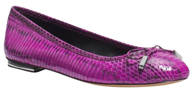 Item - Purple Odette Genuine Snake Flats Size EU 37 (Approx. US 7) Regular (M, B)