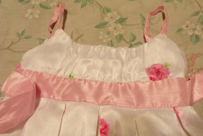 Other short dress White Floral Girls Summer Wedding Party on Tradesy