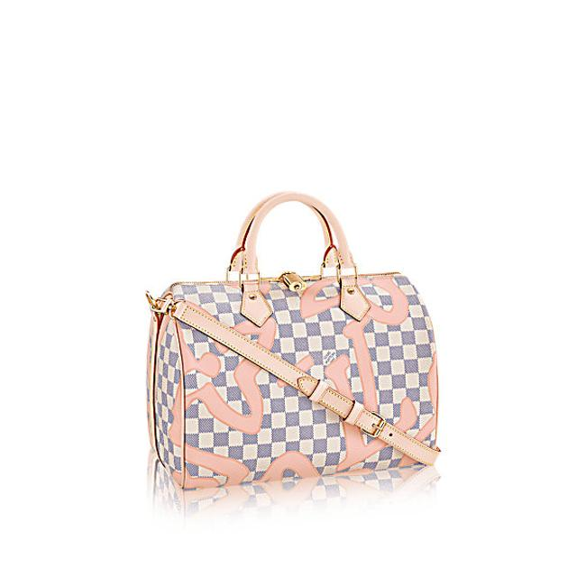 Item - Crossbody Speedy Sold Out Tahitienne Limited E Bandouliere Rose Ballerine Pink Canvas Satchel