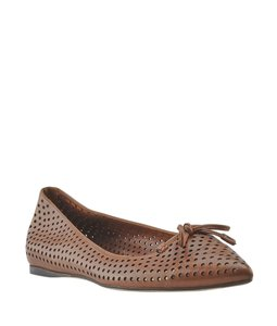 Prada Leather Brown Flats