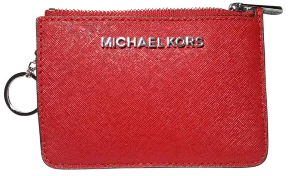 71b330ad70c6 Michael Kors Michael Kors Jet set Small TZ Coin Purse w Window ID Image 0  ...
