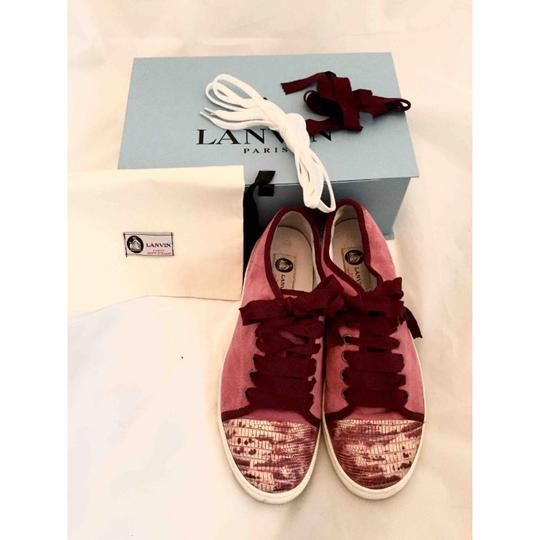 Lanvin Red/Pink Athletic Image 1