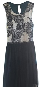 Weston Wear short dress black and cream on Tradesy