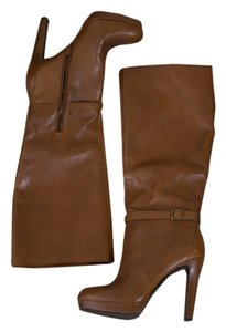 Jessica Simpson Leather Brown Boots