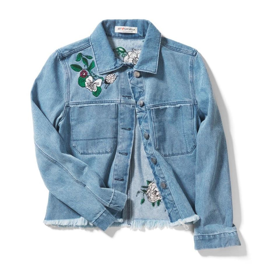 b111c702c3b24 H M ♡ Coachella Embroidery Like Beyonce In Gucci Jacket Size 4 (S ...