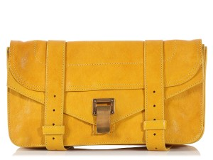 Proenza Schouler Ps.l0612.09 Ps1 Leather Brass Yellow Clutch