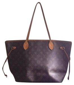Louis Vuitton Neverfull Mm Danier Gm Monogram Tote in Brown