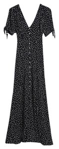 Black/white dots & stars Maxi Dress by Express