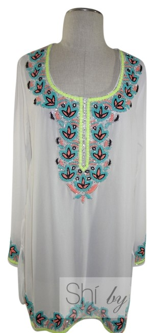 Preload https://item1.tradesy.com/images/white-embroidered-bikini-cover-cover-upsarong-size-8-m-2186445-0-0.jpg?width=400&height=650