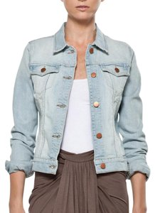 J Brand Light Blue Denim Womens Jean Jacket